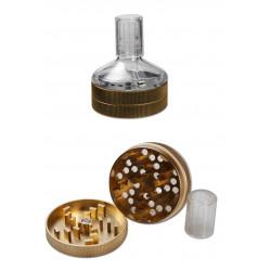 Anaxy Seed Grinder 2 tlg., bronze